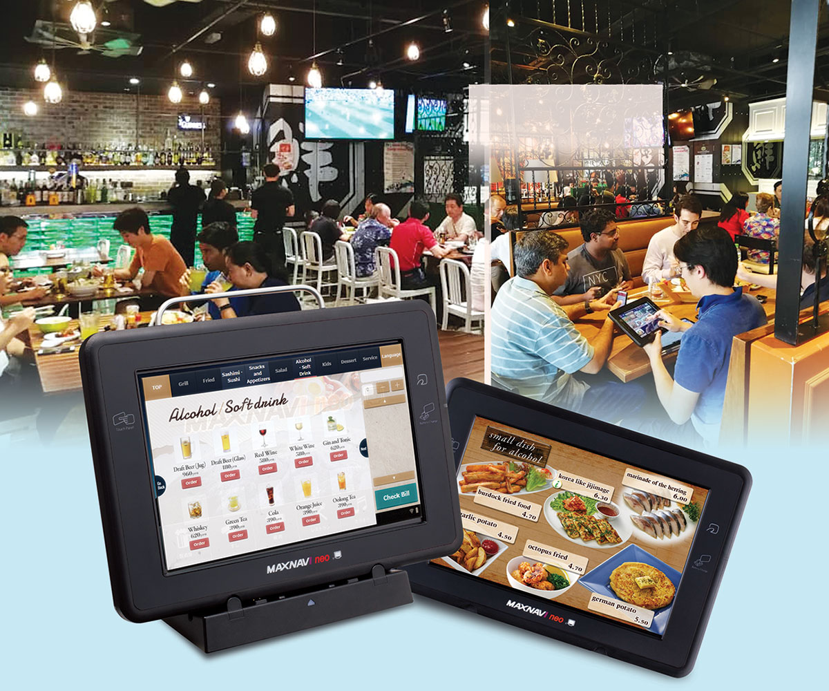 TTO table top ordering